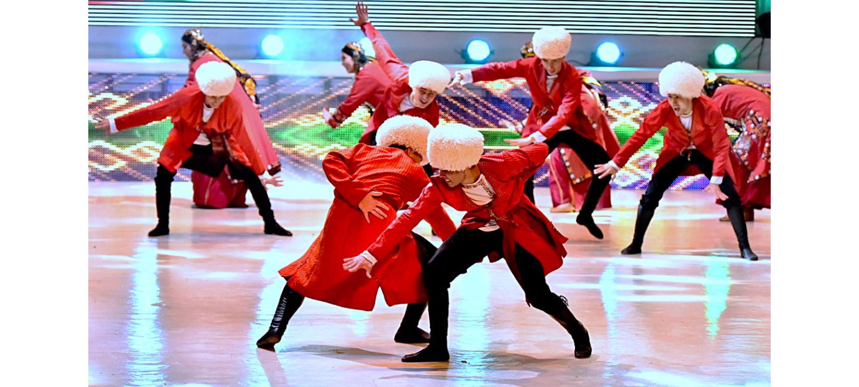 Туркменские артисты – лауреаты международного конкурса народного танца